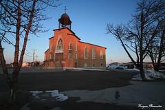 L'église Saint-Pierre (Hugoboy67) Tags: canada architecture religion québec avril printemps xsi 2011 côtenord 450d minganie havresaintpierre canon450dxsi tamron1024mm