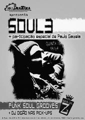 14 ABR 2011 - Soul 3 (Bar do Z) Tags: bar poster do abril cartaz ze 2011 bdz bardoze