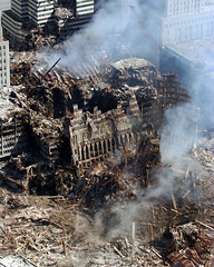 :      (THE RISE AND FALL OF THE AMERICAN EMPIRE) Tags: ny us chief 911 attack terrorist aerial damage terrorism wtc groundzero videographer phc enduringfreedom groundzeronyc sep112001