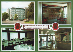 Edinburgh House Berlin Postcard 1994 (Cold War Warrior) Tags: berlin militaria edinburghhouse britishberlinbrigade
