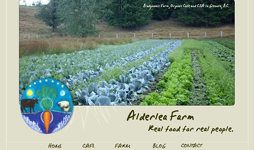 Alderlea Farm Website
