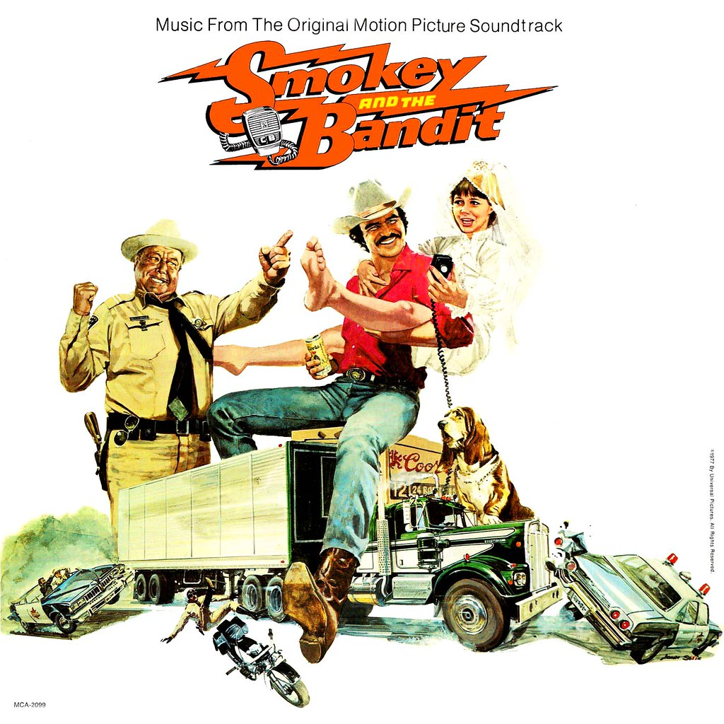 Smokey And The Bandit Lp Cover Art