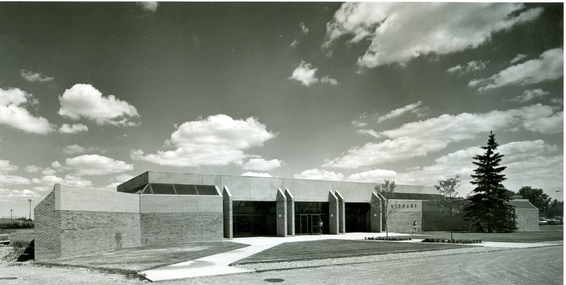 Original Troy Public Library 1971