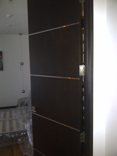 Flush Interior Doors Stainless Steel Channels