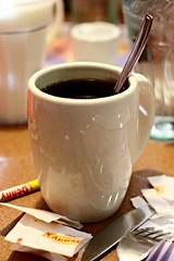 Denny's 1 (AndyM.) Tags: coffee canon eos rebel 50mm restaurant milk drink knife southcarolina fork spoon sugar crayon dennys greenville xsi canoneosrebelxsi quotidiae