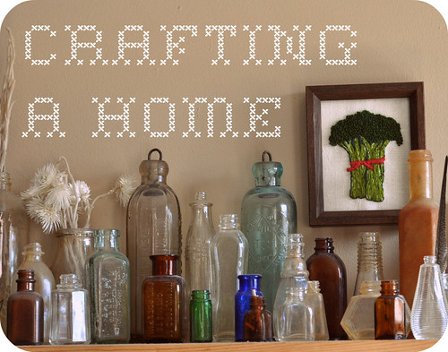 crafting a home - DIY craft along!