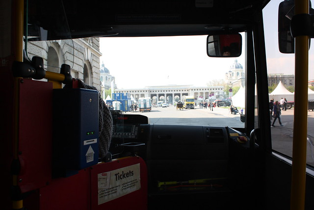 Mit dem Mini Bus durch die Innenstadt