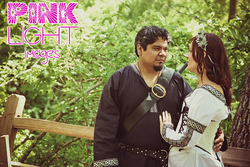 The princess bride & medieval groom!