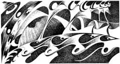02 sul ponte 01 (CIRO PIGNALOSA) Tags: nyc cinema newyork art by architecture graffiti design marketing arte drawings artistica cyber direct grafica scenografia fumetto 2011 creativo pubblicita illustrazione diritti tattoes alcuni avanguardia riservati cartotecnica pignalosa cyberdrawingsbyciropignalosa2011alcunidirittiriservatisulicenzacreativecommons