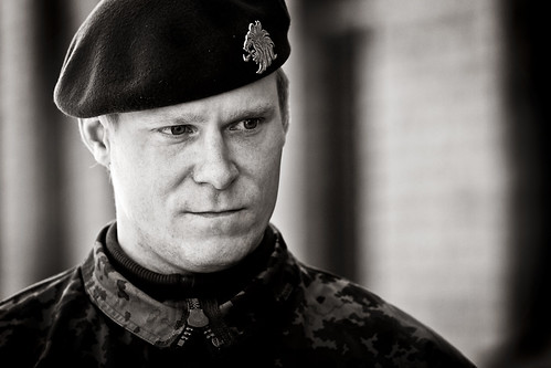 Mikko Koivu military