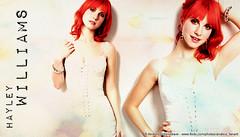 Hayley Williams 2 (andrea_fanart) Tags: music riot cosmopolitan blend paramore hayleywilliams allweknowisfalling brandneweyes