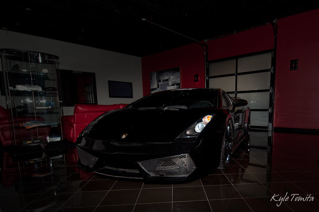 Superleggera in Lobby at PSI.JPG