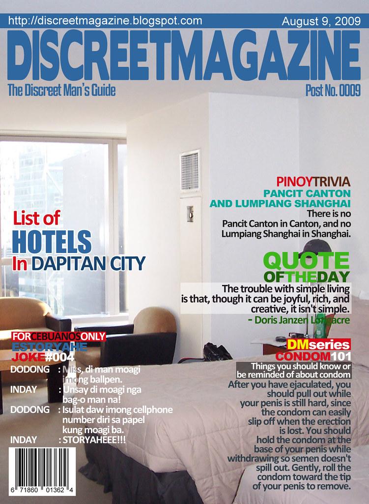 Discreet Magazine August 9 2009