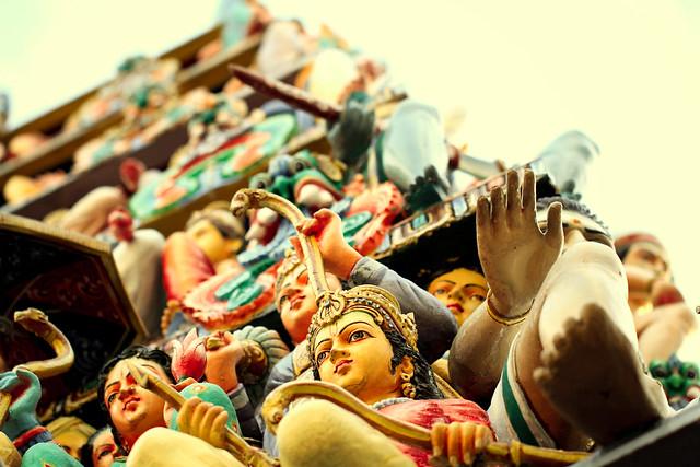 gopuram sentries