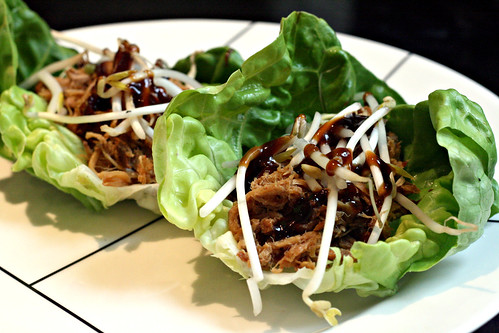 Five Spice Pork Wraps