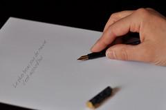 lettre (Stephane Lair) Tags: lettre feuille ecrire