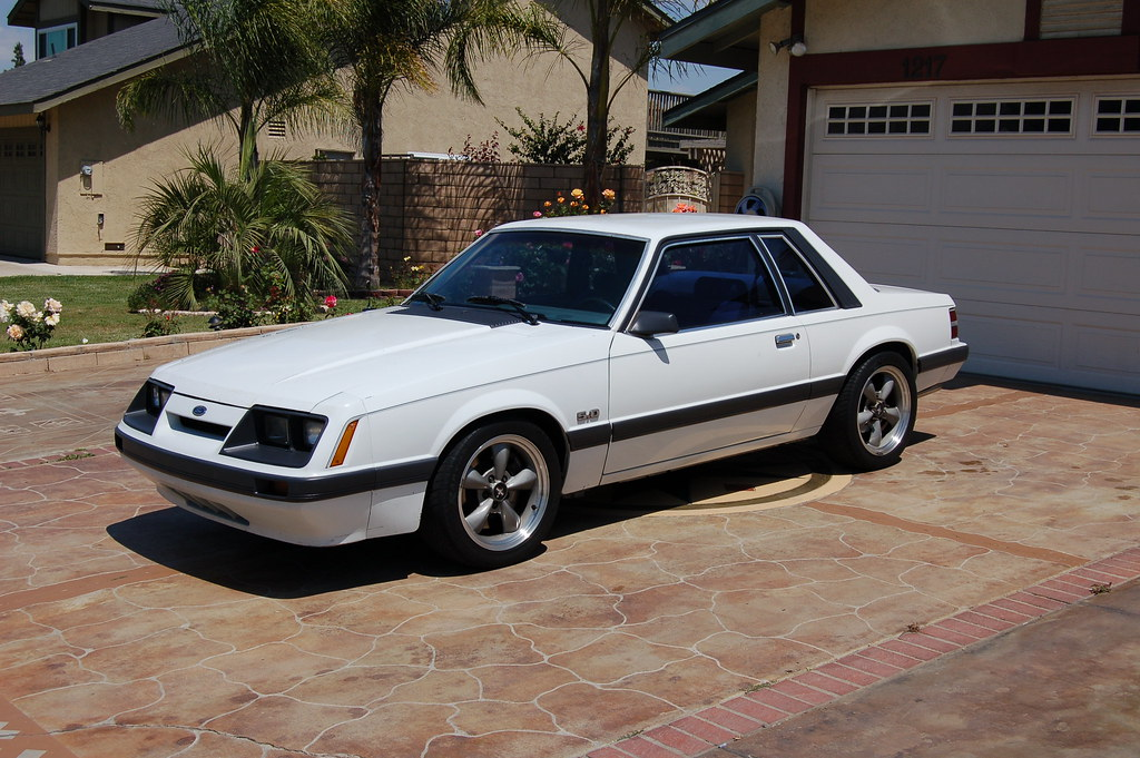 For Sale 1986 Mustang Notchback Lx 5 0 5 Speed 5800