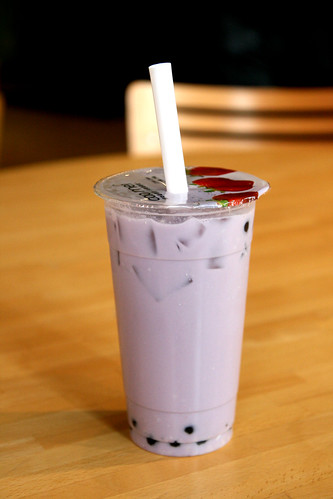 Taro Coconut Bubble Tea at Tea Drops Kansas City