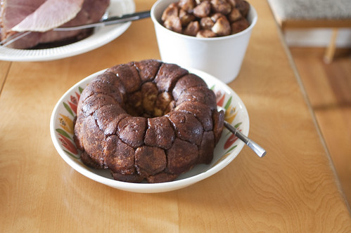 monkey bread, easter 2011