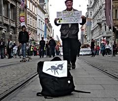 Bambsy (Bambsy) Tags: vienna above streetart berlin bristol graffiti stencil obey banksy disney bambi graff graz robingunningham bambsy teambambsy bambsyskywalker