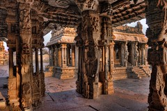 Vithala Temple (Clearvisions) Tags: india temple site vishnu unescoworldheritagesite unesco hampi worldheritage vithalatemple mygearandme mygearandmepremium roughquartz mygearandmebronze