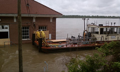 Markland Dam Flooding Crew at Lock And Dam 53 Secure Facilities Usace hq Tags Flooding Kentucky