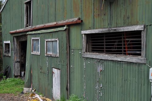 Old Green Barn