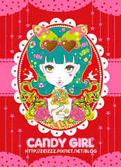 CANDY GIRL / By Zei