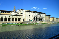 DSC_0450 (6) (pjpink) Tags: italy reflection water river florence spring tuscany firenze arno 2011 pjpink