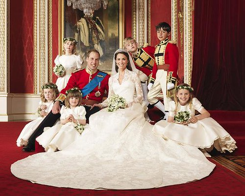 Royal Wedding Kate Middleton Mcqueen dress