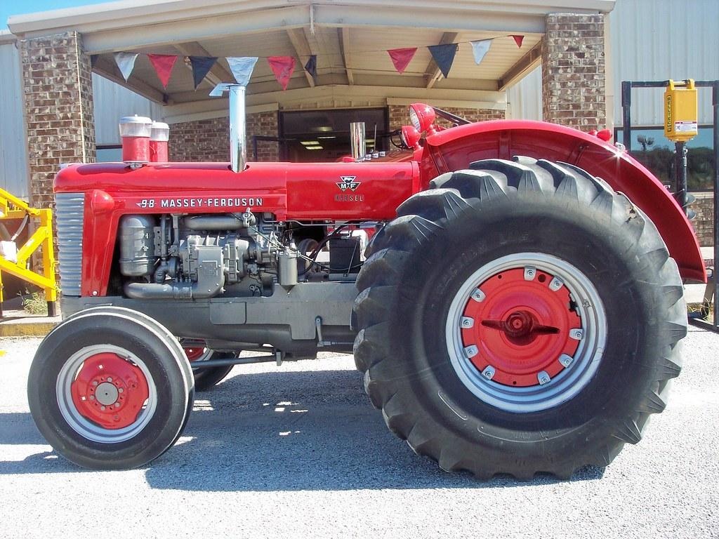 1958 Massey Ferguson 98