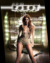 Robot - Miley Cyrus (Joshie.yeye) Tags: robot cant be cyrus tamed miley flickrestrellas