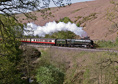 71000 Thomason Foss 30-04-11 (prof@worthvalley) Tags: uk railroad all transport railway steam locomotive types nymr 71000