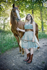 Senior Photo 2 Kate and Taffy (musicaleyesight) Tags: