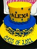 """Graduation cake • <a style=""""font-size:0.8em;"""" href=""""http://www.flickr.com/photos/40146061@N06/5702852909/"""" target=""""_blank"""">View on Flickr</a>"""