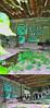 MILION DOLLAR GATTO (eleuro_eleuro) Tags: street streetart green art water grass foglie cat graffiti leaf coin italia character erba piemonte dollar gatto combo pioppi abbandoned milion moneta zanzare ufo5 eleuro mosone