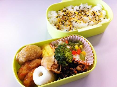 今日のお弁当 No.165 – 海苔たまご