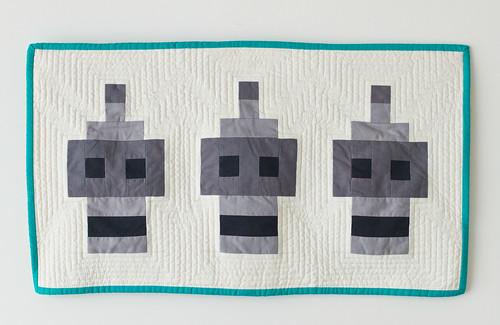 Bender mini quilt