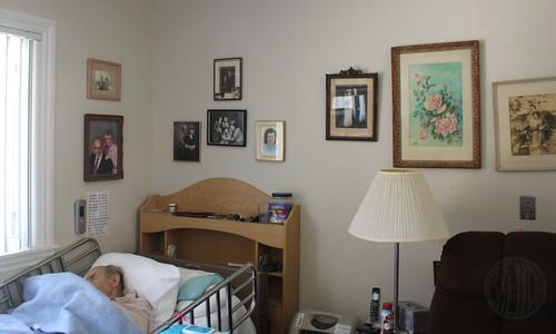 Grandpa in his room.