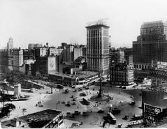 Columbus Circle Looking South c. 1921 (syscosteve) Tags: nyc columbuscircle circletheater