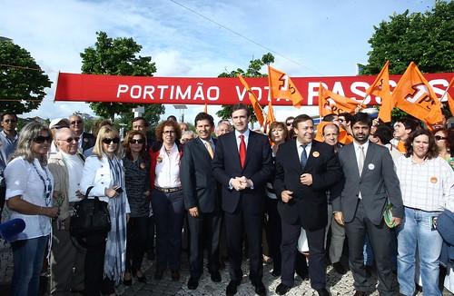 Pedro Passos Coelho em Portimão