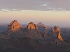 Remote mountains in Sahara desert (s_andreja) Tags: mountain algeria desert algerie hoggar assekrem lpremote