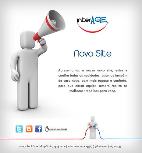 Nosso novo site chegou! by InterAGE