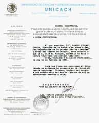 1996-unicach (IrisAtma) Tags: iris mexico himalaya artes kin cv resume visuales atma reconocimiento curriculo constancias aggeler