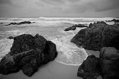 Storm's Comin' (mike dillon) Tags: sea beach water rock monterey sand surf waves pacificocean coastal 365 pacificgrove asilomar 2011