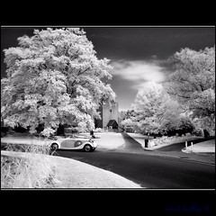 THE WEDDING CAR (mickeydud) Tags: england history landscape ir countryside kent nikon village d70 rollsroyce infrared british cultures antiquity weddingcar villagelife historiclandscape worldwidelandscapes anticando historyantiquities thechallengefactory mickeydud artistoftheyearlevel3 af~sdxnikkor16~85mmf35~56edvr artistoftheyearlevel4 artistoftheyearlevel5 masterclasselite