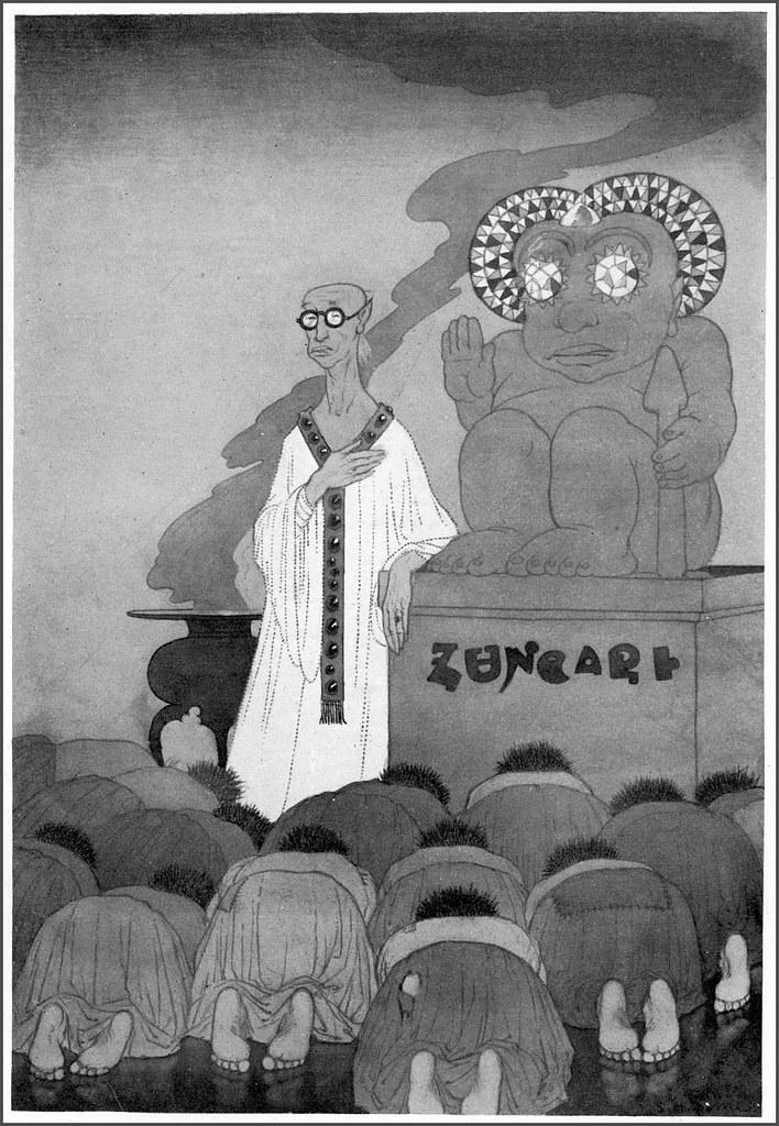 Sidney Sime - Yazun (1906)