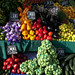 Gli splendidi colori della verdura in Valparaiso