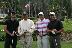 Robert Sloan, Ed Aceves, Phil Frank, and Phil Ranker