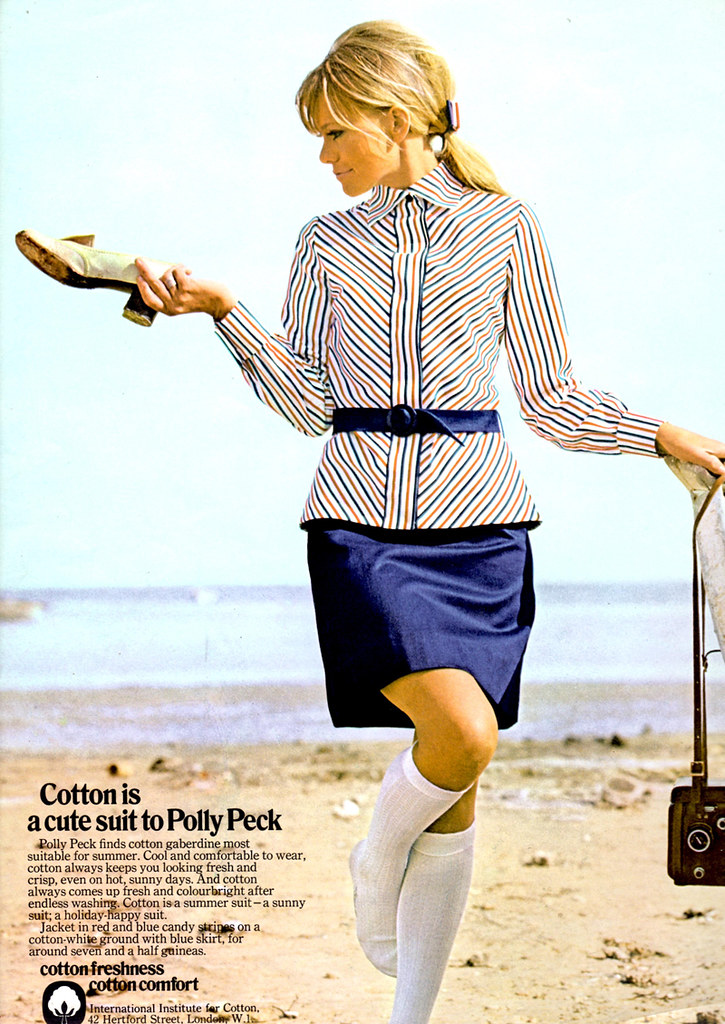 1960s Magazine Ad for Polly Peck